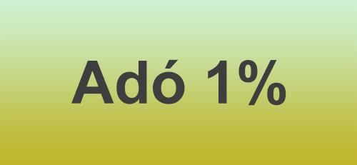Kérjük támogasson minket adója 1%ával
